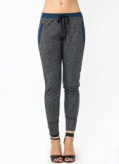 Fit And Trim Terry Joggers