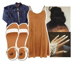 """Untitled #352"" by gabb-slayy ❤ liked on Polyvore featuring Levi's and 2b bebe"