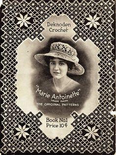 """Deknoden Crochet Book No.1, A practical Method, """"Marie Antoinette"""" , Mo, 1915 - Doris - Álbuns da web do Picasa"""