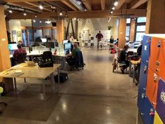 Impact Hub in Seattle on a rainy day