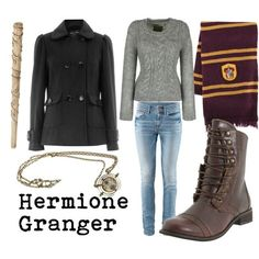 Hermione.  Looks like my costume for this Halloween is complete.