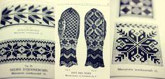 Gamle norske mønstre