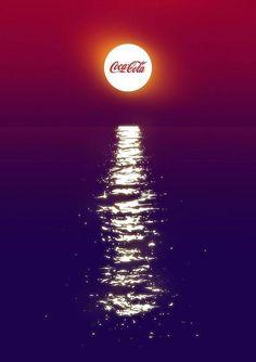 This Coca Cola poster design Coca Cola Poster, Coca Cola Ad, Creative Poster Design, Creative Posters, Poster Designs, Creative Advertising, Advertising Design, Advertising Campaign, Font Identification