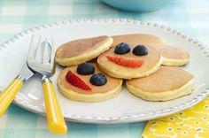 Silver Dollar Sour Cream Pancakes recipe #breakfast