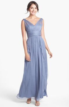 """Ethereal gown in """"slate"""""""