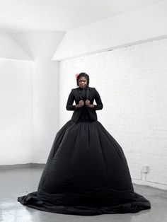 2013 Standard Bank Young Artist for Visual Art - Mary Sibande. Pic by Adam McConnachie.