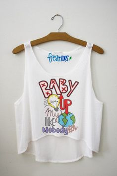 Baby you light up my world like nobody else Fresh-Tops Crop Top