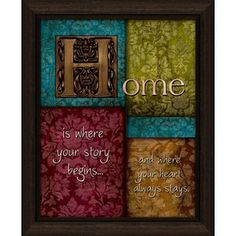 16-1/2-in W x 13-1/2-in H Inspirational Framed Wall Art