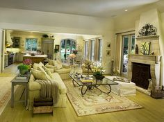 open plan interior decorating ideas for living rooms