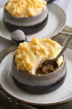 Guinness Beef and Mushroom Shepherd's Pies