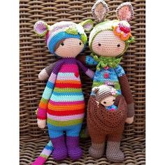 Crocheted cuties