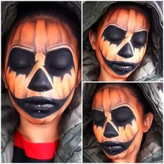Pumpkin makeup