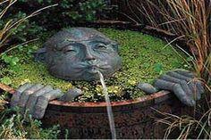 unique gardens   Unique water features