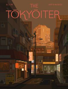 The Tokyoiter (previously) continues to impress us with dazzling faux-magazine covers that showcase numerous visions of what makes Tokyo such a fascinating place. Checking their website for new covers has become one of our most enjoyable pastimes. Allow us to present several new ones from some of ou