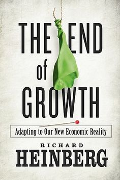 Economists insist that recovery is at hand, yet unemployment remains high, real estate values continue to sink, and governments stagger under record deficits. The End of Growth proposes a startling diagnosis: humanity has reached a fundamental turning point in its economic history. The expansionary trajectory of industrial civilization is colliding with non-negotiable natural limits.    Richard Heinberg's latest landmark work goes to the heart of the ongoing financial crisis, explaining how…