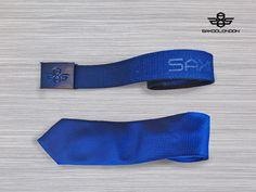 Blue accessories #saxoolondon #menswear #mensfashion #tie #belt