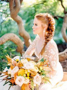 Ruffled - photo by Love by Serena http://ruffledblog.com/copper-and-slate-autumn-inspiration-shoot | Ruffled