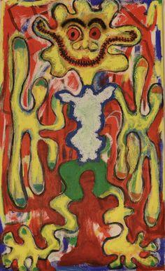 Sewed Five / Maarit Korhonen, Acrylic, Oil Pastels, Oil Stick, Canvas, 65cm x 38cm Dark Paintings, Original Paintings, Online Painting, Artwork Online, Dancer In The Dark, Autumn Painting, Original Art For Sale, Artists Like, House Painting
