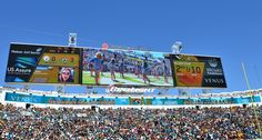 Home of the world's largest video boards! #MOREJAX