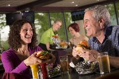 Burger & Lounge features Specialty Burgers and a full service bar.