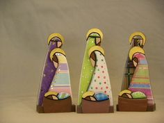 Contemporary Style Nativity Scene