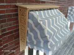 Miniature House: Making Blinds