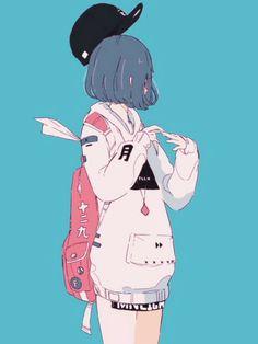 Kawaii Anime Girl, Anime Art Girl, Manga Art, Pretty Art, Cute Art, Aesthetic Art, Aesthetic Anime, Character Art, Character Design