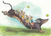 fantasy illustration dachshund - Yahoo Image Search Results