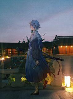 Tower of God - Arts - Khun Aguero Anime Boys, Otaku Anime, Manhwa, Cartoon N, Aesthetic Anime, Webtoon, Character Design, Fan Art, Statue