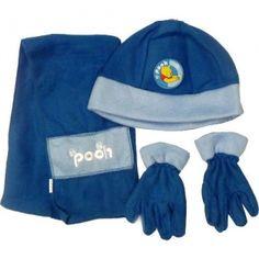 7f1fb295f33 Disney Winnie The Pooh Hat Scarf and Gloves Set