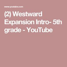 Quiz Southeast U S State Capitals See More 2 Westward Expansion Intro 5th Grade Youtube
