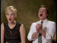 Jennifer Lawrence & Josh Hutcherson talk about Pranking - hahaha the bathroom one!!! Hahaha