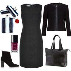 One #dress  many looks  #businessattire  #styling #elegance  #womeninbusiness #modernjewellery #earrings #instastyle #redpointtailor #fashion #style #ootd #becreative  http://bit.ly/1ZZaNt7