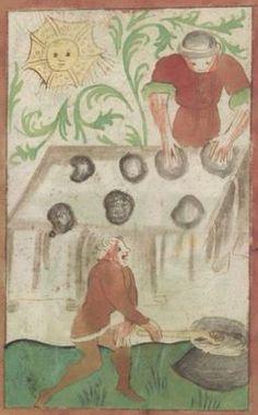 Kriegstechnik (Bilderhandschrift) Oberrhein · um 1420-1440 Ms. Rh. hist. 33b  Folio 127r