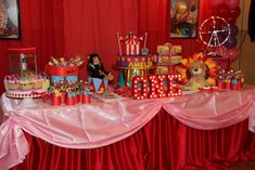 Amelia's Circus Party  | CatchMyParty.com