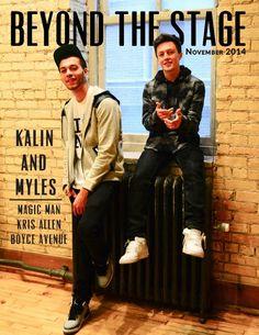 Kalin And Myles Trampoline Album Cover
