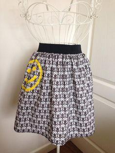 Sherlock wallpaper inspired skirt by PicknMix on Etsy