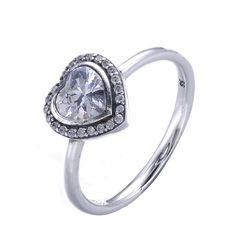 Cyithrel Sterling Silver Rings Cubic Zirconia