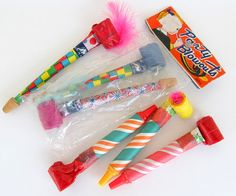 Vintage Dime Store Party Blowouts Set of 6 by teresatudor on Etsy, $6.50