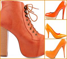 Color Coordinate: Orange Shoes