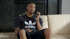 Rising basketball star Damian Lillard is ready to step up his game this playoff season with new adidas gear from Foot Locker. When he looks good he plays goo. Foot Locker, Viral Advertising, Bae, Damian Lillard, Funny Commercials, Derrick Rose, San Antonio Spurs, Adidas, Funny Thoughts