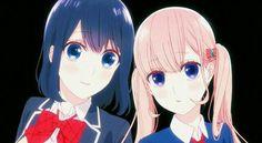 Koi to uso anime girl tekasaki misaki and Liliana sanada cute girl