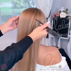 4 strands looking braid without actually braiding - Not good at braiding? No problem! Here's a quick tutorial on how to achieve a 4 strands looking braid without actually braiding❣️☺️ Styled with Sexy Hair - Braided Ponytail Hairstyles, Bride Hairstyles, Easy Hairstyles, Easy Updos For Long Hair, Long Hair Video, Updo Styles, Long Hair Styles, Hair Upstyles, Hair Knot