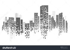 Architecture Portfolio Discover Building City Illustration City Scene On Stock Vector (Royalty Free) 372058774 Vector Design - Building And City Illustration At Night City Scene On Night Time Night Cityscape - 372058774 : Shutterstock Building Illustration, City Illustration, Vector Design, Vector Art, Vector Illustrations, Vector Graphics, Sketch Note, Real Estate Business Cards, Skyline Silhouette