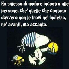 accanto a te... - Snoopy
