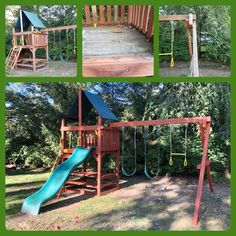 Refurbish: sand, stain/seal, tune-up Wood Playground, Relocation Services, All Brands, Seal, Yard, Patio, Courtyards, Garden, Harbor Seal