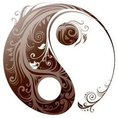 Tattoo idea. Love the idea of a yin yang as a tattoo ever since a friends dad told me this meaning. Every bad person has a bit of good in them and every good person has a bit of bad in them.