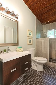 Mid-Century Modern Homes for sale Atlanta- i like the vanity