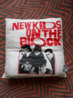 New Kids On The Block Pillow
