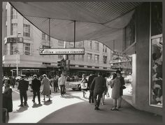 Shops at Royal Mail House, Bourke Street, Melbourne 1967 Australian Continent, Melbourne Victoria, Matte Painting, Largest Countries, Small Island, Melbourne Australia, Tasmania, Historical Photos, Royal Mail